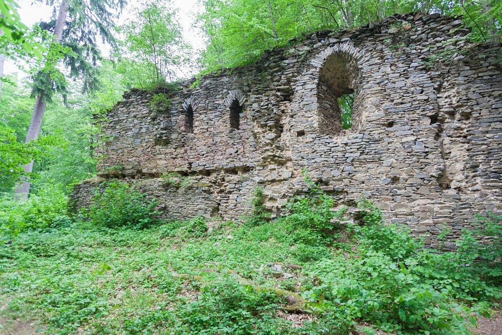 Karlův hrádek u Purkarce.