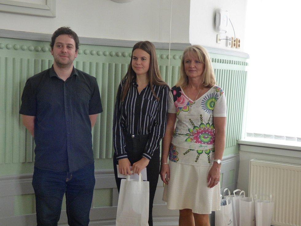 V pondělí se na Krajském úřadě Jihočeského kraje v Českých Budějovicích uskutečnilo ocenění talentovaných jihočeských studentů.