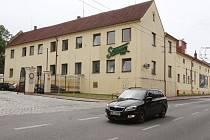 Českobudějovický pivovar Samson.
