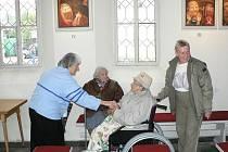 Kaplička v Úsilném je několikrát do roka centrem různých akcí.