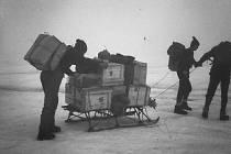 Z expedice teplických horolezců na Špicberky v roce 1968.