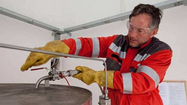 Odorizace zemního plynu. Ilustrační foto.