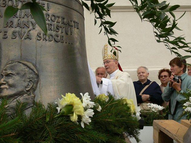 Barokní perla z dílny Kiliána Ignáce Dientzenhofera přišla o své zvony v obou světových válkách.