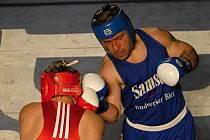 Jiří Bursa byl i proti Děčínu velkou oporou boxerů Samsonu.
