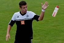 Filip Vaněk dal v zápase dorostenců Dynama s Meteorem Praha (9:0) tři góly vítězů.