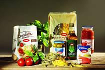 Kousek Itálie v supermarketech Terno a Trefa na jihu Čech.