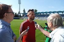 Tomáš Sivok trénuje s Českými Budějovicemi