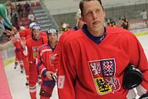 Filip Turek v dresu veteránského národního týmu.