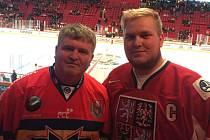 Otec a syn Faltýnovi vyrazili na NHL