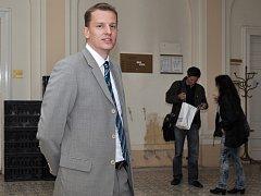 Bývalý ředitel ROP Jihozápad Jiří Trnka u Městského souduv Praze. Snímek je z loňského července.