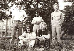 Slavná folková kapela Minnesengři ožije 14. listopadu na koncertě v českobudějovickém DK Metropol. Na snímku sestava v roce 1970.
