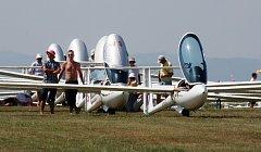 Mistrovství světa v bezmotorovém létání na Hosíně.