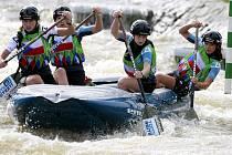 Juniorky sbírali zlaté medaile na MS v raftingu