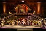 Balet na špičkách Šípková Růženka se přesunul z DK Metropol na otáčivé hlediště.