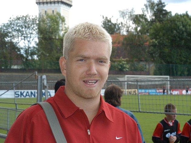 Jednička Pedagogu Jan Janda se těší se svými spoluhráči na start třetí ligy.