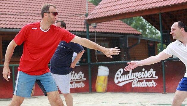 Volejbalový turnaj s Jihostrojem
