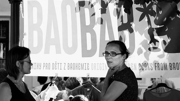 Tereza Horváthová z nakladatelství Baobab.