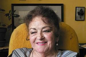 V neděli oslavila Inge Švandová Koutecká 85 let.