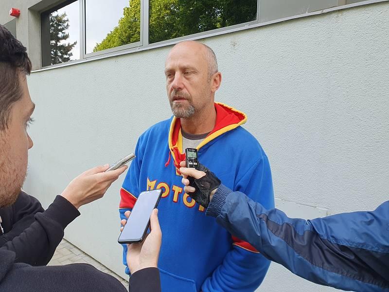 Hokejový trenér Jaroslav Modrý se vrátil tam, kde s hokejem začínal
