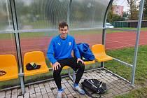 Talentovaný fotbalista Jakub Zevl.