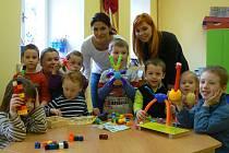 Veselo bývá v Mateřské škole v Libníči, která v budově bývalé školy funguje teprve pár měsíců.