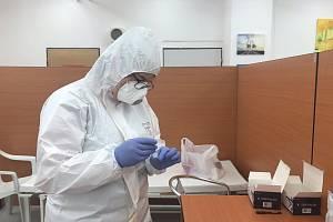 V Jaderné elektrárně Temelín rozšířili možnosti testování zaměstnanců na COVID-19.