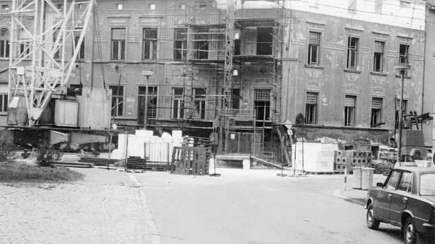 Resslova ulice v roce 1988.