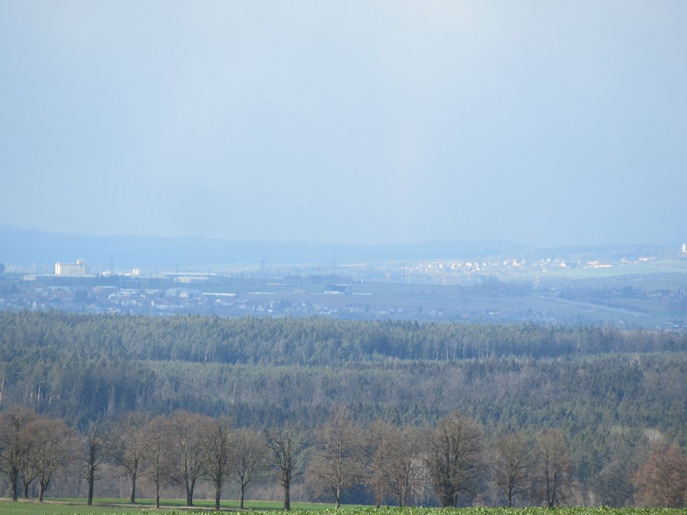 V sobotu 3. dubna se střídalo slunečno, se sněžením, deštěm, větrem a oblačností. S počasím si pohrávali snad všichni čerti.