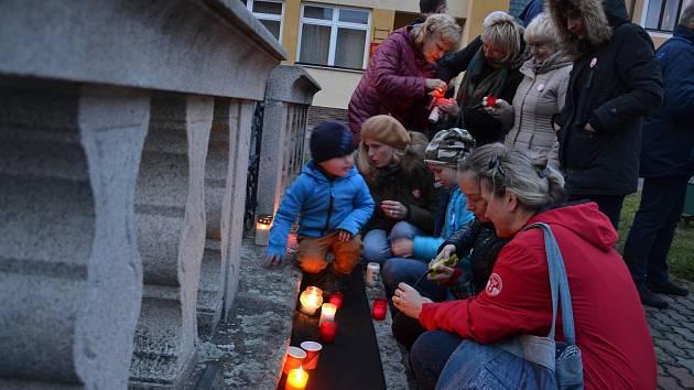 V neděli oslavili v Horní Stropnici výročí sametové revoluce.