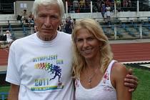 Milan Čuda a Ivana Pokorná
