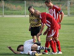 Slavoji Temelín premiéra na novém stadionu vyšla, porazil béčko Lokomotivy 5:1.