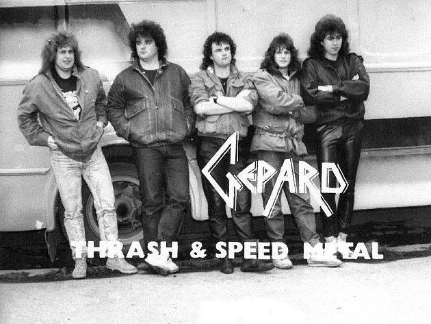 Metalová skupina Gepard ohlásila comeback. První 'návratový' koncert bude mít 16. května v Dubném na Českobudějovicku. Archivní snímek je z 80. let.
