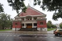 Husův sbor na Palackého náměstí v Českých Budějovicích