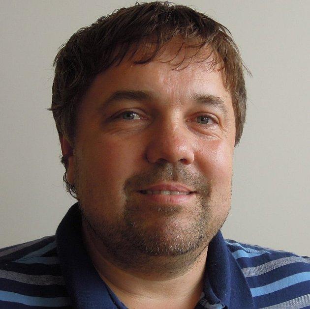 Předseda fotbalového oddílu Centropen Dačice Milan Točík.