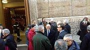 Delegace z Českých Budějovic se vypravila do Vatikánu, kde se 13. prosince setkali osobně s papežem Františkem a předali mu dary.