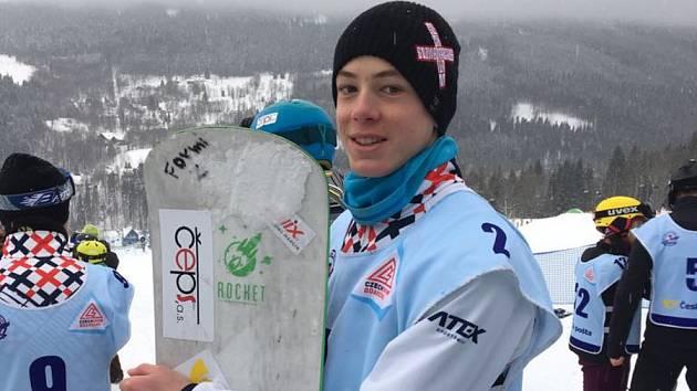 Snowboardisté bojují o letenky na Nový Zéland - Jan Formánek.