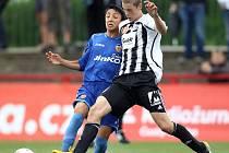 Roman Vávra v utkání proti CF Valencia