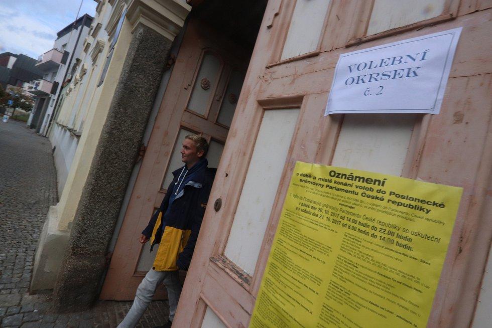 Volební místnost 2, Muzeum v Týně nad Vltavou.