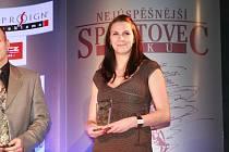 Iveta Luzumová patří mezi nejlepší sportovce Jihočeského kraje
