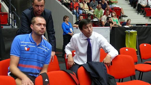 Jakub Novotný a Jan Svoboda (zprava) na ME v Karlových Varech