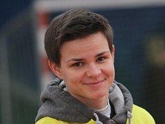 REPREZENTANTKA. Veronika Rybičková je první florbalistkou z jihu Čech, která si zahraje na mistrovství světa.