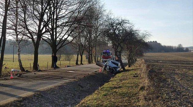 Sobotní dopravní nehoda, při níž bohužel zemřeli dva cyklisté.