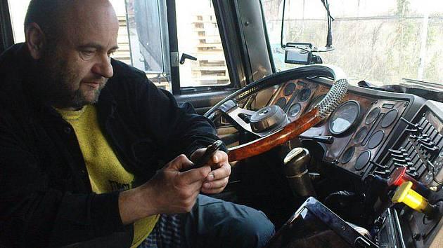 Řidič kamionu Zdeněk Pekara, který skončil v tureckém vězení.