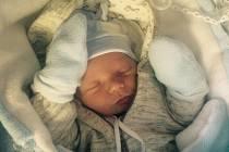 Filip Běloch přišel na svět 19.2.2016 v 8.05 hodin. Je prvním miminkem českobudějovických partnerů Lenky Suché a Pavla Bělocha.
