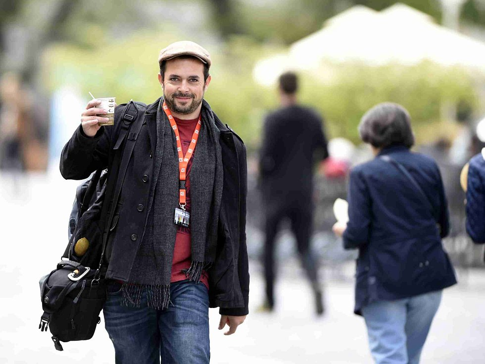 Festival Anifilm v Třeboni promítl 405 animovaných snímků. Na snímku animátor Jakub Pistecký, který pracoval mj. na filmech Rango, Piráti z Karibiku, Avengers či Kapitán Amerika: Občanská válka. V Třeboni si oblíbil stánek Kafekára.