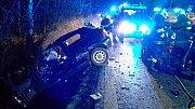 Tragická nehoda se stala 31. ledna na silnici I/20  v katastru obce Sedlec.