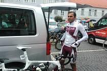 Závod Okolo jižních Čech - ČEZ Tour odstartoval v Protivíně