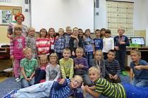 Prvňáci z dubenské základní školy.