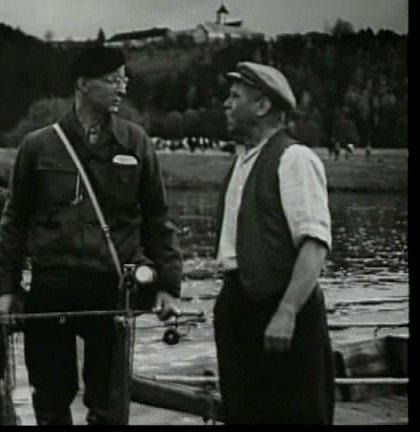 V jižních Čechách se natáčel film Dobrodružství na Zlaté zátoce.
