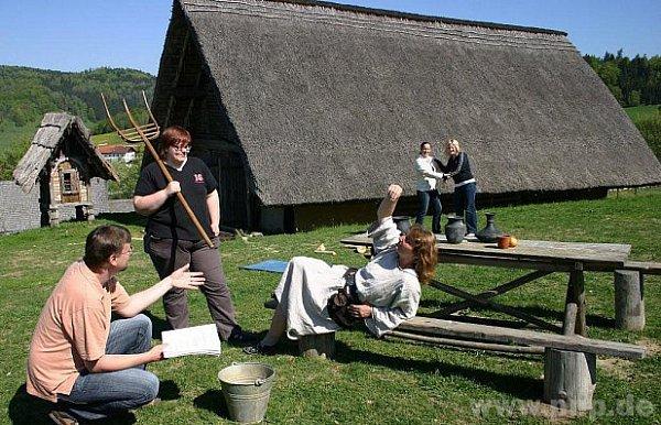 Keltská vesnička je na prodej.
